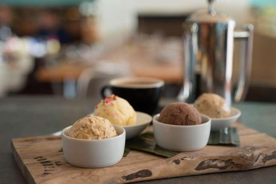 New housemade ice creams include Avocado Tomatillo and Grapefruit & Tequila