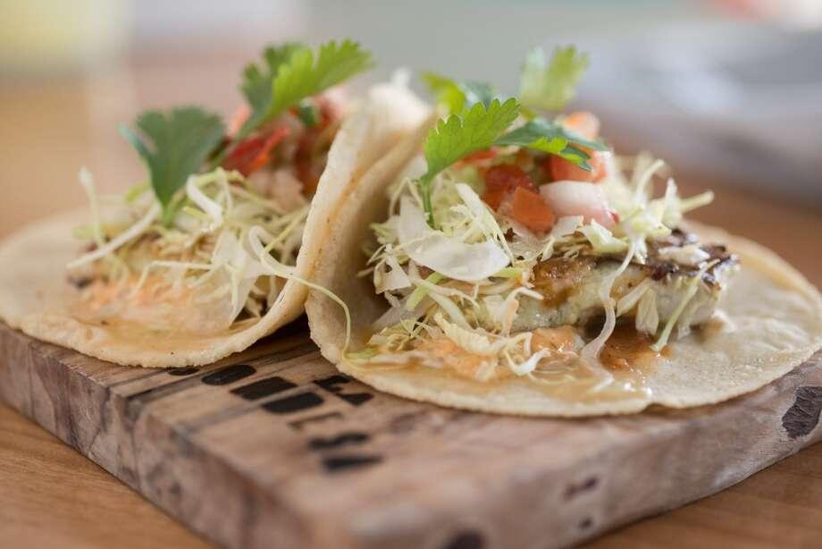 Fish tacos, $12