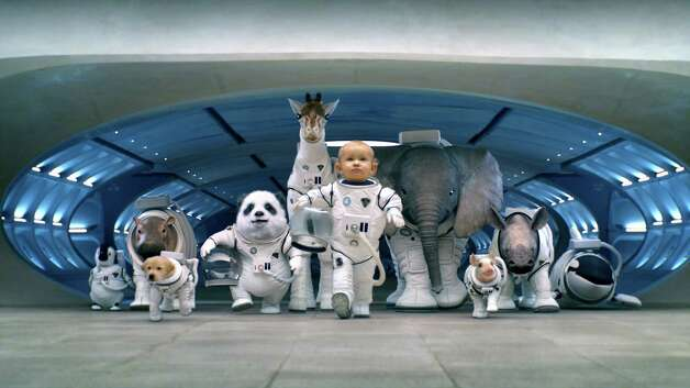 Kia's 'Space Babies' 2013 Super Bowl Commercial for the all-new 2014 Sorento is part of the 'It has an answer for everything' campaign. (Kia Motors via Detroit Free Press/MCT) Photo: KIA Motors, McClatchy-Tribune News Service / Detroit Free Press