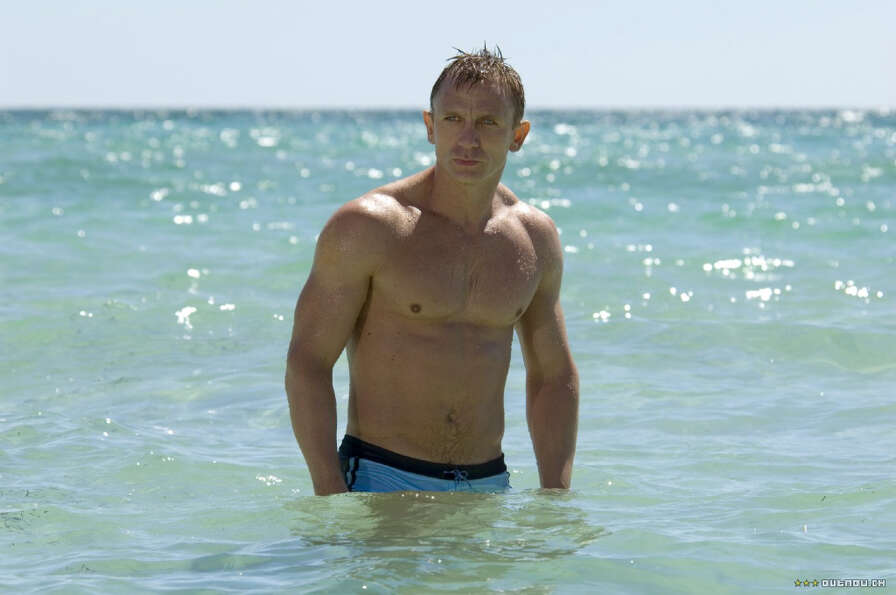 Daniel Craig as James Bond in Casino Royale.