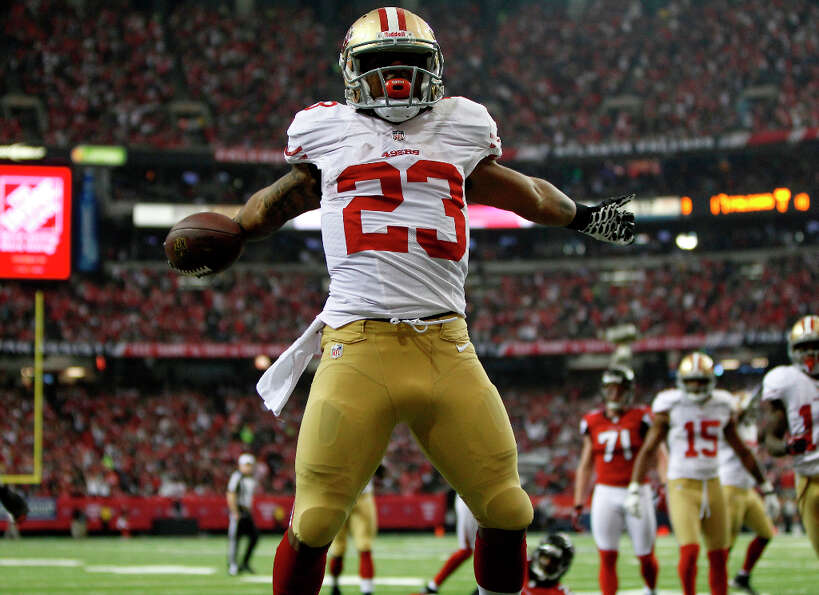 San Francisco 49ers running back LaMichael JamesJames was born in N