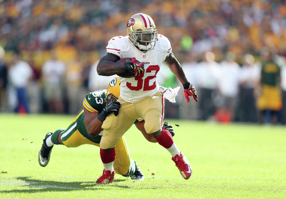 San Francisco 49ers running back Kendall HunterHunter was born and raised in Tyler. Photo: Andy Lyons, Getty Images / 2012 Getty Images