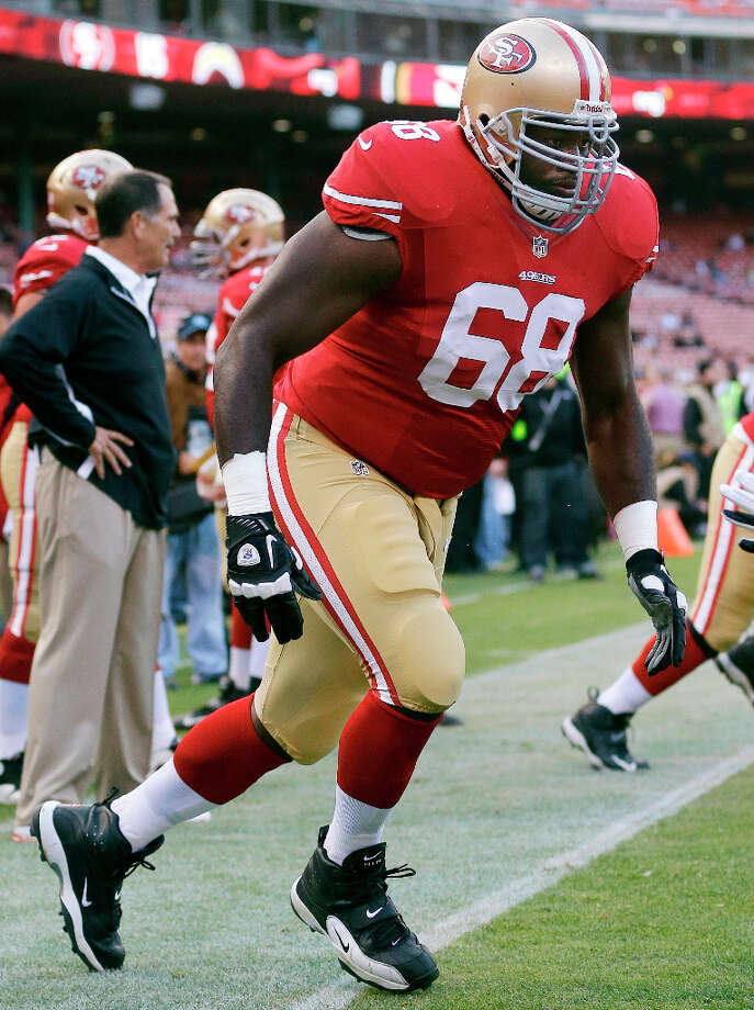 San Francisco 49ers guard Leonard DavisDavis was born and raised in Wortham, attended the University of Texas and played four seasons with the Cowboys (2007-2010). Photo: Marcio Jose Sanchez, Associated Press / AP