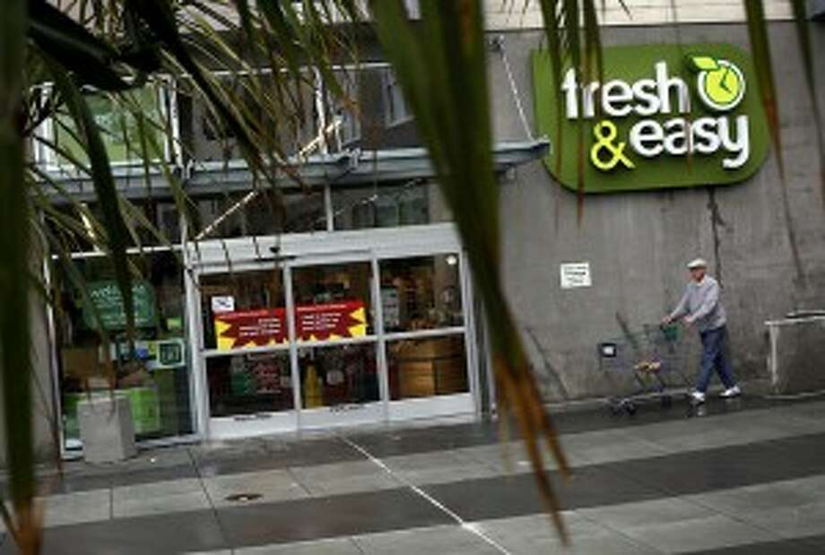 Yucaipa Cos. is picking up approximately 150 Fresh & Easy stores, including most of its 19 Bay Area locations. The remaining 50 or so stores will be closed. This store on Third Street in San Francisco's Bayview neighborhood is closing. Source: Fresh & Easy chain sold, 50 stores to close