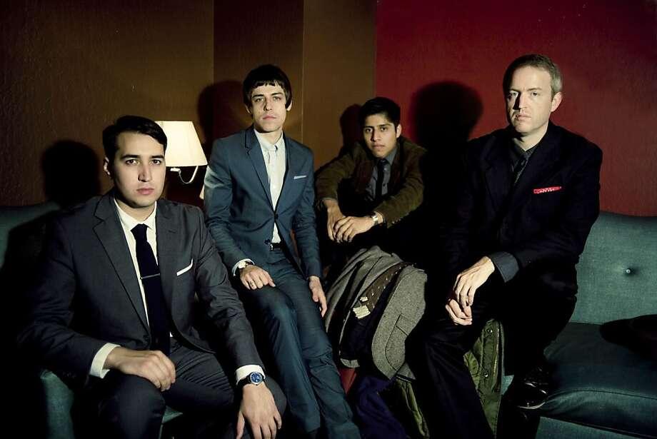 Picture Atlantic: left to right: Ryan Blair, Nik Bartunek, Daniel Martinez, Brian Graves. Photo: Anna Larina, Skeleton Key Photography