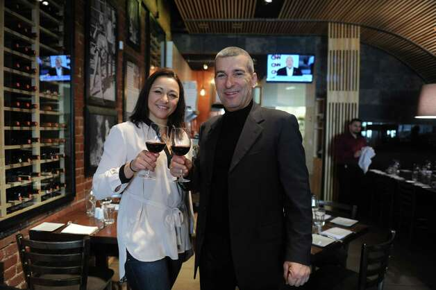 Cotto Wine Bar Pizzeria, a new Italian restaurant, has opened in downtown Stamford Photo: Helen Neafsey / Greenwich Time