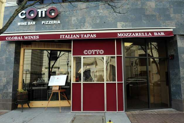 Cotto Wine Bar Pizzeria, a new Italian restaurant, has opened in downtown Stamford, Conn., Thursday, Jan.31, 2013. Photo: Helen Neafsey / Greenwich Time