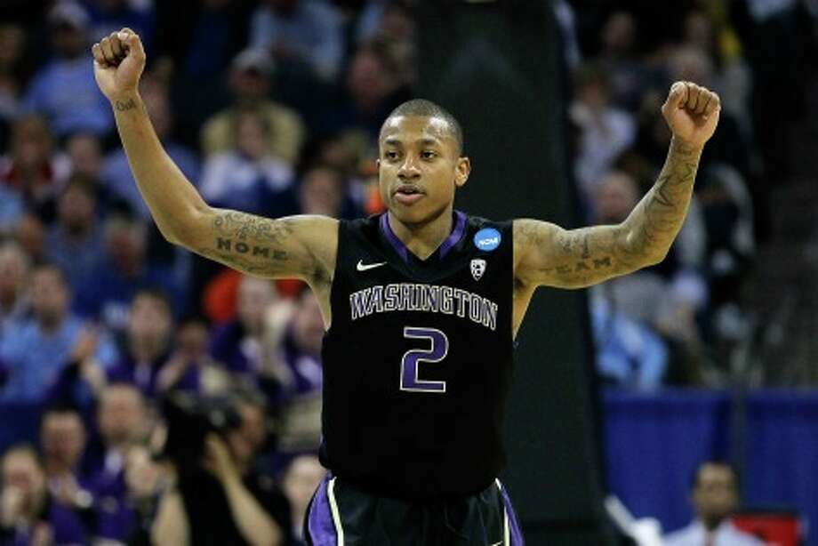 Isaiah Thomas did the right thing by entering the NBA draft this year. Photo: Kevin C. Cox, Getty Images / 2011 Getty Images