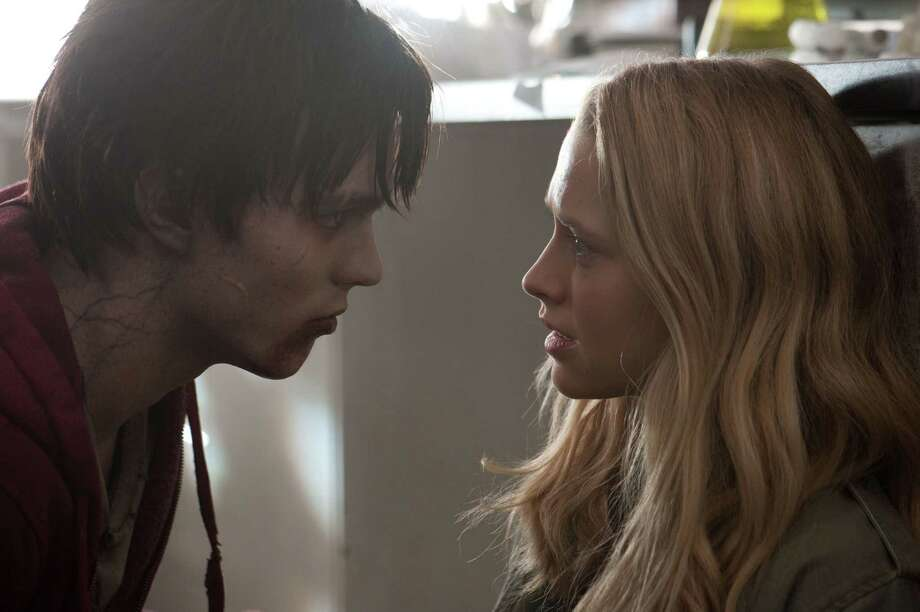 """At the end of the day, it's about the nerd (Nicholas Hoult) trying to get the girl (Teresa Palmer),"" à la a John Hughes flick, ""Warm Bodies"" director Jonathan Levine says. Photo: Jonathan Wenk / © 2011 Summit Entertainment, LLC.  All rights reserved."