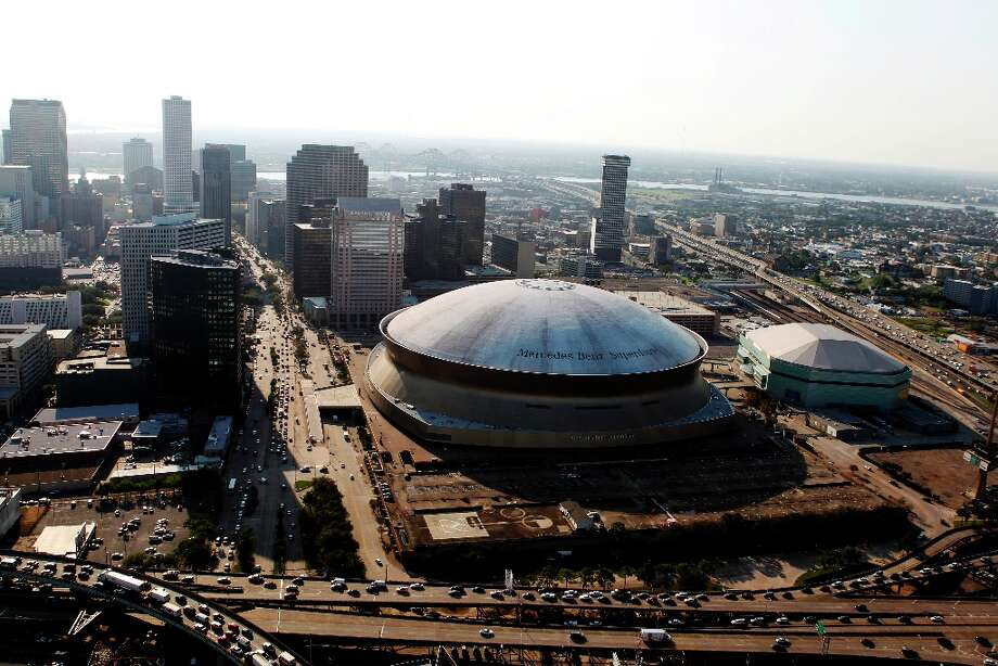 This is a photo of the Louisiana Mercedes-Benz Superdome in New Orleans, Wednesday, Sept. 19, 2012. Photo: Gerald Herbert, Associated Press / AP