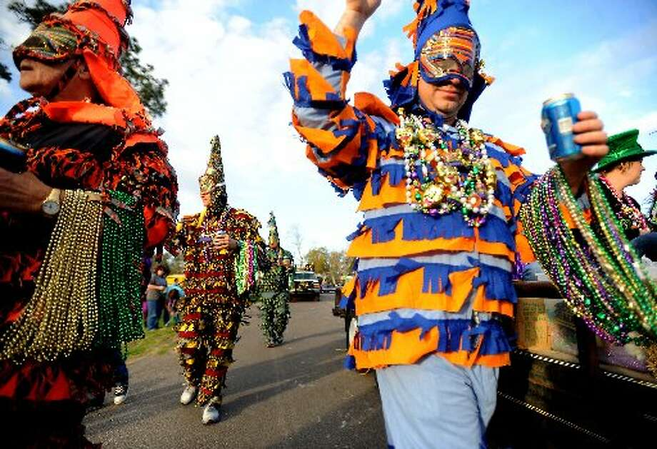 Mardi Gras of Southeast Texas in Port Arthur. cat5 file photo
