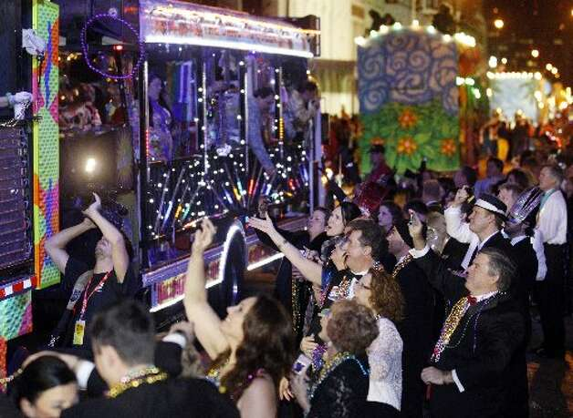 Galveston Mardi Gras. File photo
