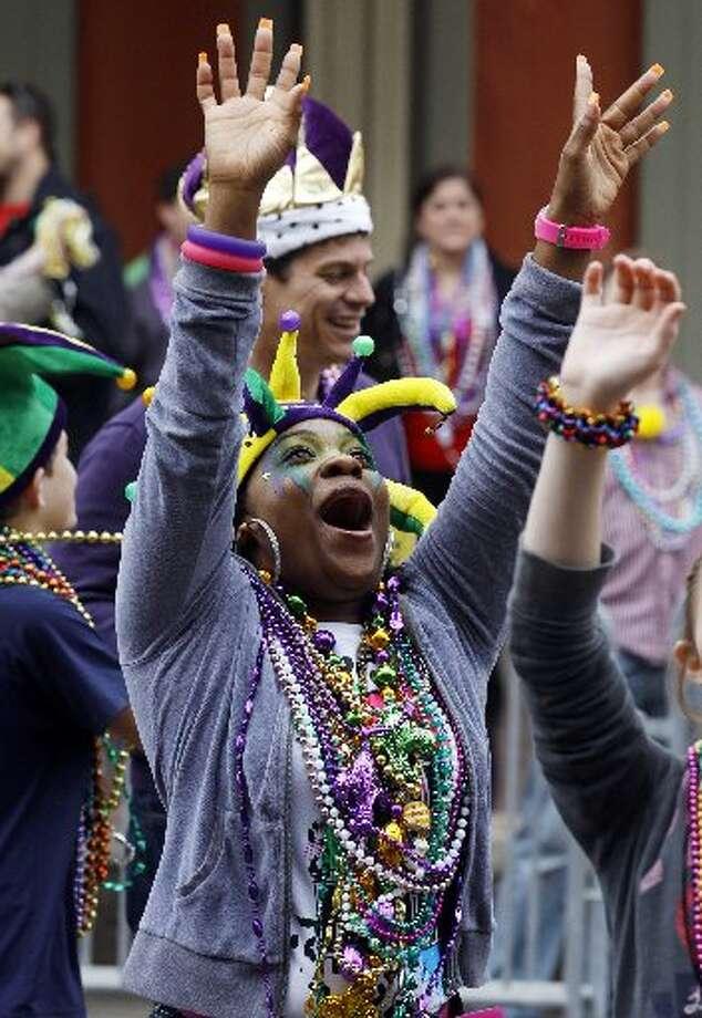 Galveston Mardi Gras. File photo