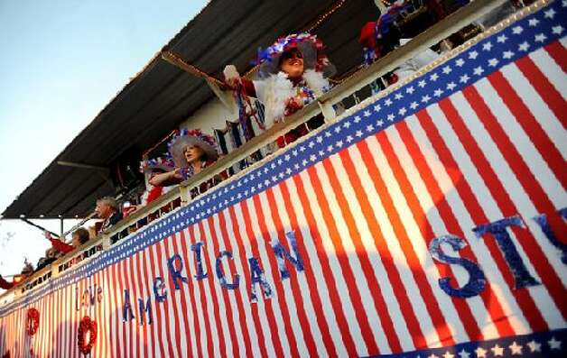 Mardi Gras parade in Orange. cat5 file photo