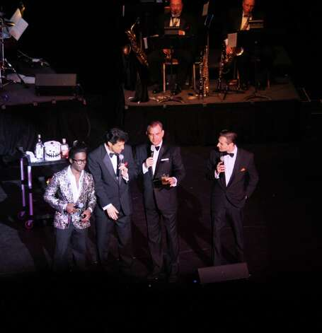 "The heyday of Las Vegas is recalled in ""Sandy Hackett's Rat Pack"" which brings to life one of the fabled nightclub shows featuring Frank Sinatra and his entertainer pals. The revue will be at the Palace Theater in Waterbury on Feb. 8. Photo: Contributed Photo"