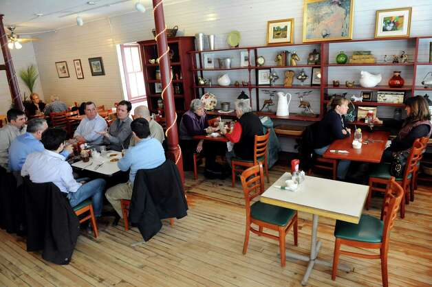Shirley's Cafe on Tuesday, Jan. 29, 2013, in Jonesville, N.Y. (Cindy Schultz / Times Union) Photo: Cindy Schultz / 00020936A