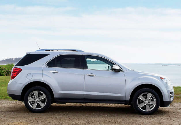 ChevyÕs compact crossover, the Equinox, is now in its second generation and comes with a roomy interior and cargo hold, a choice of four- or six-cylinder engines, and a large variety of standard and optional amenities. For 2013, it offers a new 3.6-liter V-6 engine option and several other features. Photo: General Motors Co. / License Agreement - Please read the following important information pertaining to this image. This GM image is protected by copy