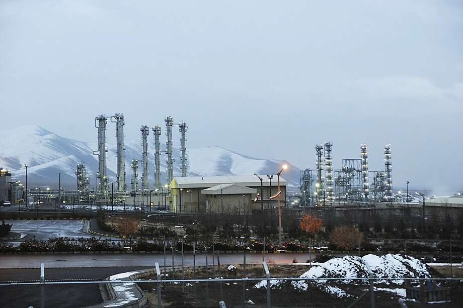 FILE - A Saturday, Jan. 15, 2011 file photo, shows Iran's heavy water nuclear facilities near the central city of Arak 150 miles (250 kilometers) southwest of Tehran. Iran has floated specific dates for reopening talks with the U.S. and other world powers about its nuclear program. At the same time, Tehran has left U.N. nuclear inspectors empty-handed when it comes to addressing Western suspicions that it's conducting tests related to nuclear weapons. (AP Photo/ISNA,Hamid Foroutan, File) Photo: Hamid Foroutan, Associated Press