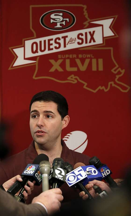 Jed York has led the 49ers back to the Super Bowl. Photo: Michael Macor, The Chronicle
