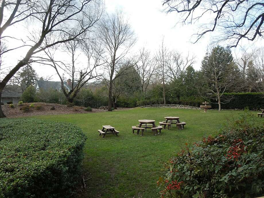 The picnic lawn adds even more space where visitors can appreciate the tranquil scene and views. Photo: Carey Sweet, Special To The Chronicle