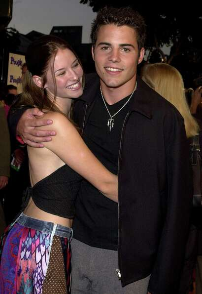 Nathan West and girlfriend Chyler Leigh attend the premiere of the movie