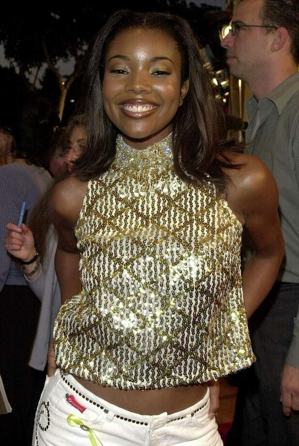 "Gabrielle Union arrives at the premiere of the movie ""Bring It On"" in 2000 in Los Angeles. (Photo by Online USA) Photo: Getty Images, Getty / Getty Images North America"