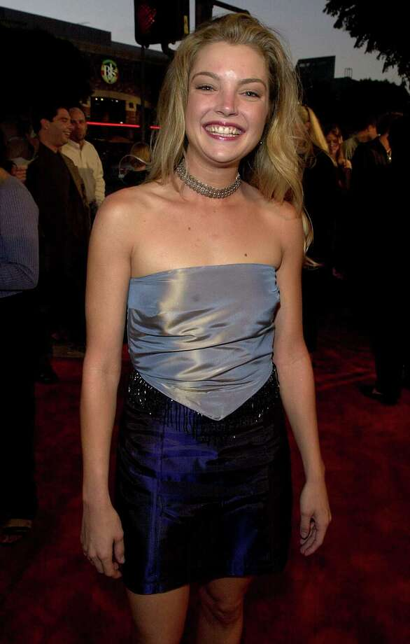 "Clare Kramer arrives at the premiere of the movie ""Bring It On"" in 2000 in Los Angeles. (Photo by Online USA) Photo: Getty Images, Getty / Getty Images North America"