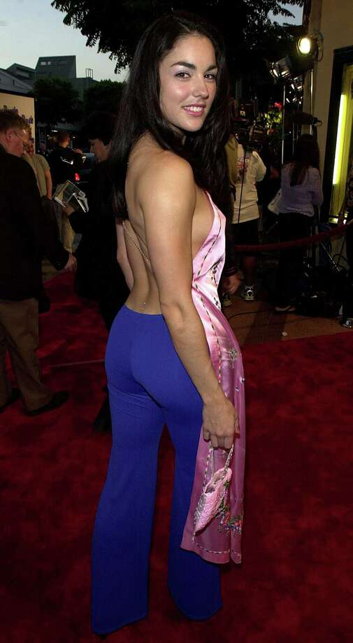 "Tsianina Joelson arrives at the premiere of the movie ""Bring It On"" in 2000 in Los Angeles. (Photo by Online USA) Photo: Getty Images, Getty / Getty Images North America"