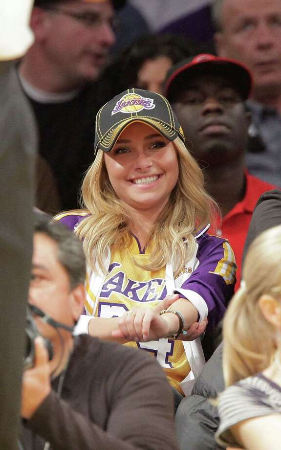 ... attends a game between the Chicago Bulls and the Los Angeles Lakers at Staples Center in 2009 in Los Angeles. Photo: Noel Vasquez, Getty / 2009 Noel Vasquez