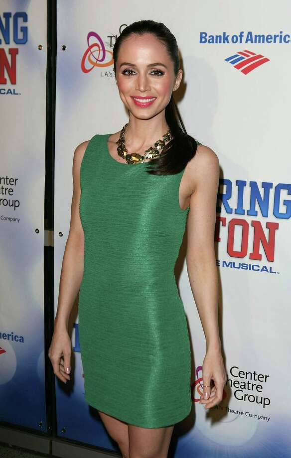 "Dushku at the opening night performance of ""Bring It On: The Musical"" in 2011 in Los Angeles. Photo: Ryan Miller, Getty / 2011 Ryan Miller"