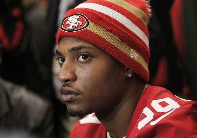 49ers' Chris Culliver, talks with reporters, during the daily press conference on Thursday Jan. 31, 2013, in New Orleans, La. The San Francisco 49ers and the Baltimore Ravens prepare for this Sunday's NFL Superbowl match up. Photo: Michael Macor, The Chronicle