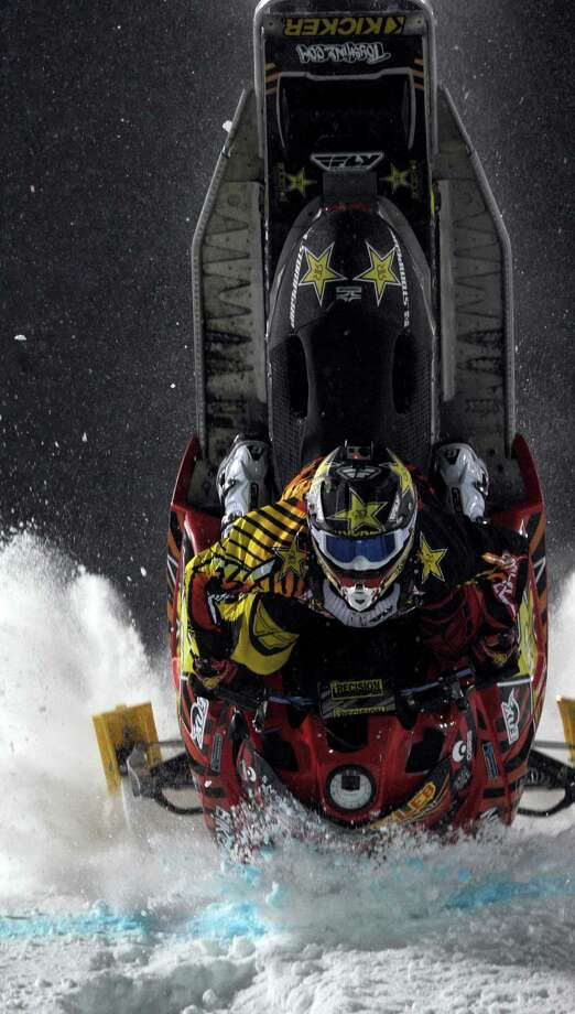 Caleb Moore's death in the freestyle snowmobile competition was the first in the 18-year history of the X Games. Photo: Christian Murdock, MBI / The Colorado Springs Gazette
