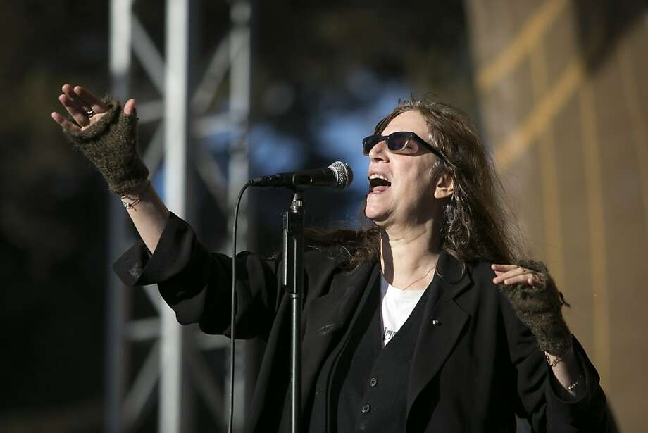 """Patti Smith: Camera Solo"" Photo: Laura Morton, Special To The Chronicle"