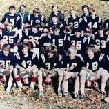 Steve Young, No. 36, at age 10 with the North Mianus Cowboys in Greenwich.