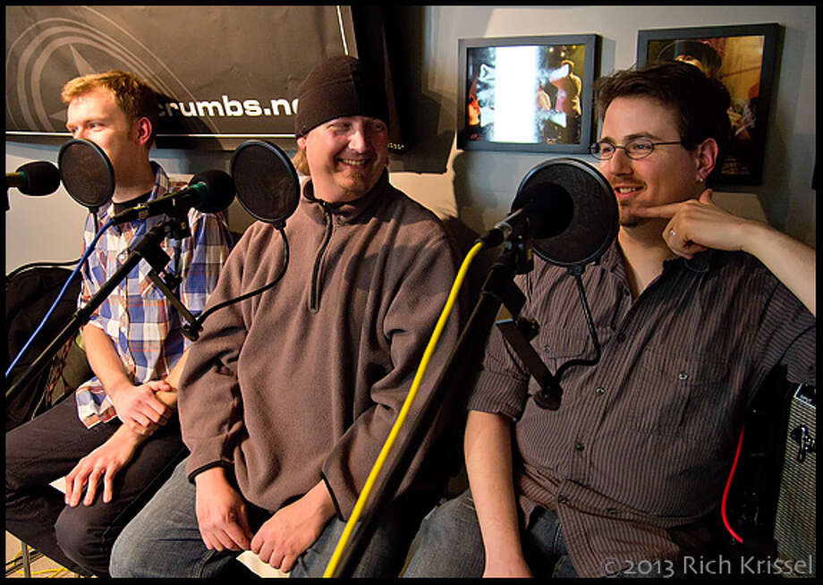 Dan, Mark, and Ritch during interview