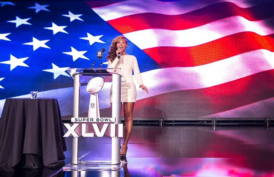 Beyonce's news conference - she didn't lip-sync that - was among the week's diversions. Photo: Christopher Polk, Getty Images