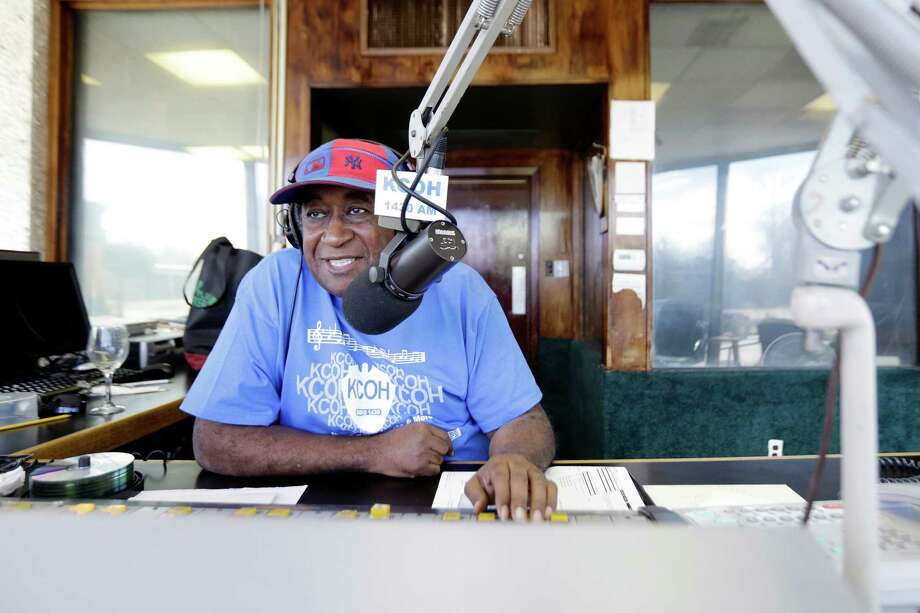 "Wash Allen - hosted ""Confessions"" for decades on KCOH, the first African-American radio station in Texas. Photo: TODD SPOTH, Photographer / Todd Spoth"