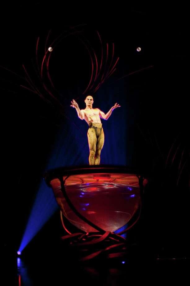 Viktor Kee juggles during Cirque du Soleil's Amaluna. Photo: JOSHUA TRUJILLO, SEATTLEPI.COM / SEATTLEPI.COM