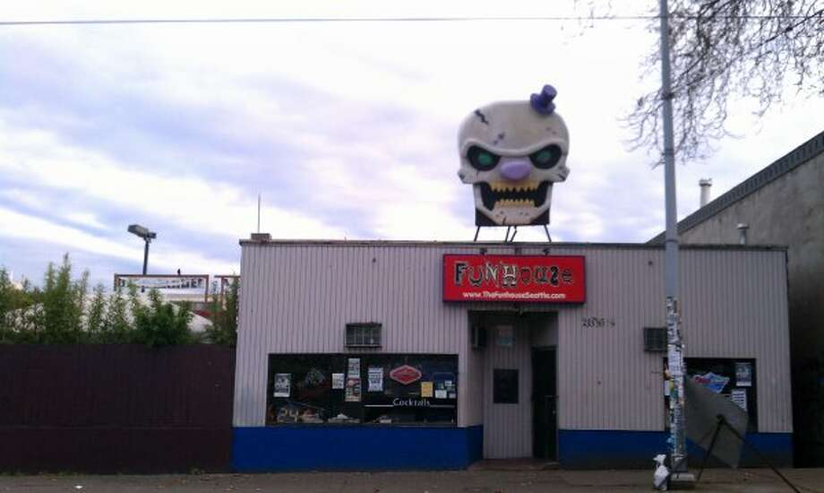 Funhouse: The popular Queen Anne punk club with the creepy clown head closed in October of 2012, to make way for a new 7-story building. The owner had plans to relocate elsewhere.