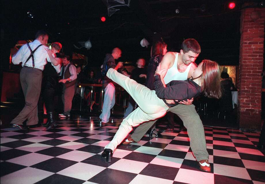More dancing at the Fenix Underground, which used to host a swing night. Photo: MERYL SCHENKER