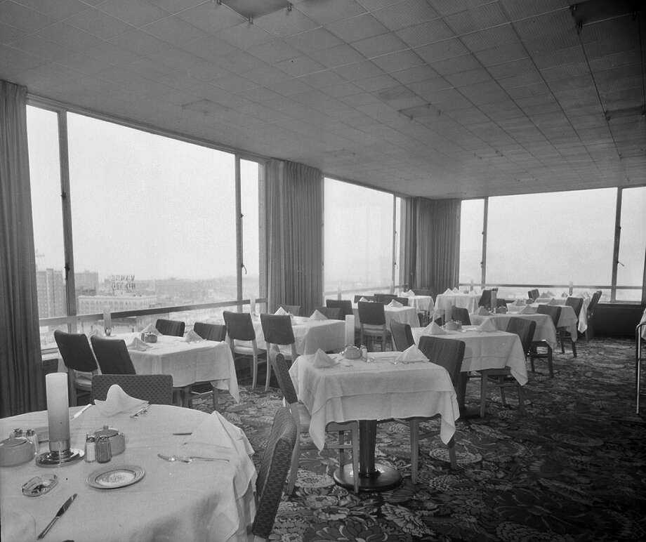 Cloud Room: For decades, this restaurant and bar atop the 11-story downtown Camlin Hotel was known as a classy spot to get a drink, toast the view and listen to a piano man. The Cloud Room closed in 2003, when the 1926 hotel was sold. Photo: Seattle Municipal Archives