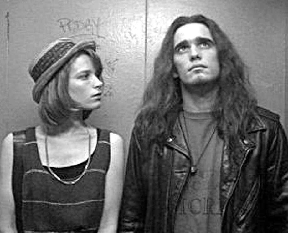 Singles, a love letter of a movie to Seattle's grunge scene, filmed at the OK Hotel, a favorite punk and grunge music club under the Alaskan Way Viaduct. The club closed after the Nisqually Earthquake damaged its building in 2001. It's now a building of artist suites and apartments. Photo: Publicity Photo