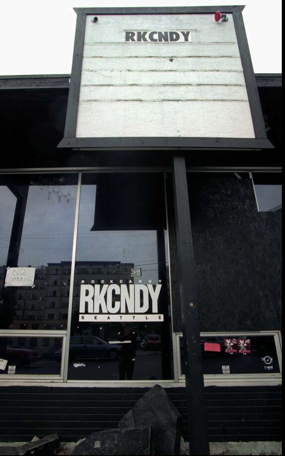 In the '90s, RKCNDY was the place to see grunge and hip hop, with the AP calling it one of the most influential music clubs in Seattle. But that was in a story about about life after grunge. This picture, taken for that story, was of RKCNDY's closure. Photo: BARRY SWEET, Associated Press / AP
