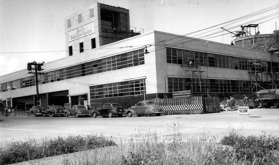 Here's another view of the former P-I building in July 1948. Photo: Seattlepi.com