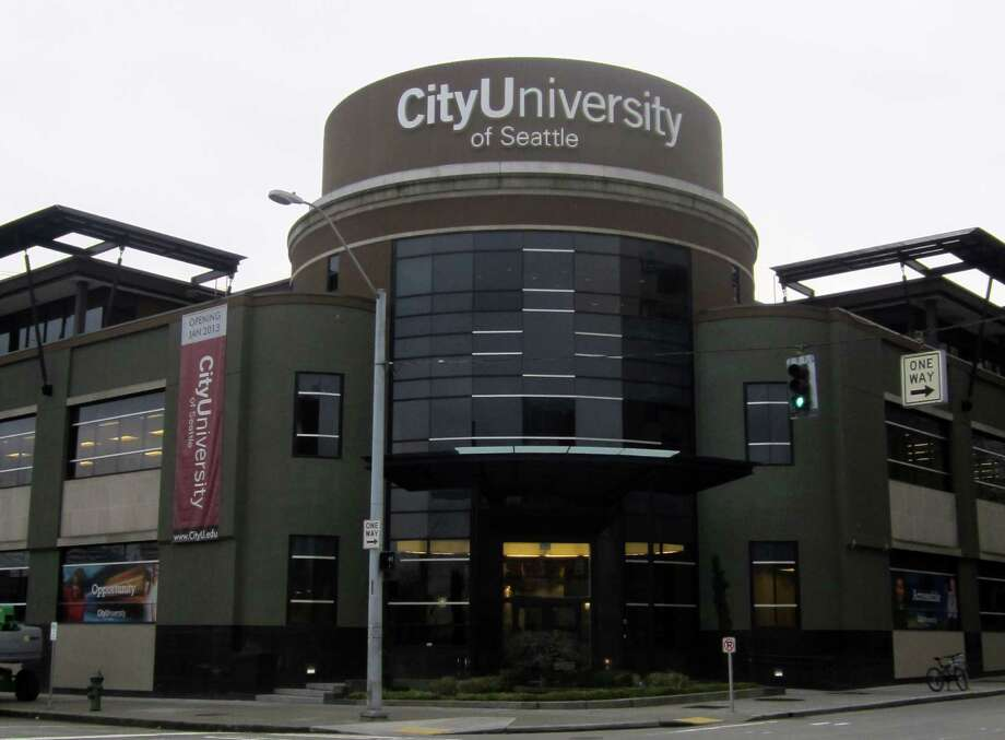 Here's a similar picture from Jan. 31, 2013. City University of Seattle had its grand opening in the remodeled space six days earlier. Photo: Casey McNerthney/seattlepi.com