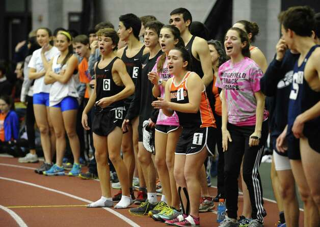 FCIAC Indoor Track and Field Championship action in New Haven, Conn. on Thursday January 18, 2013. Photo: Christian Abraham / Connecticut Post
