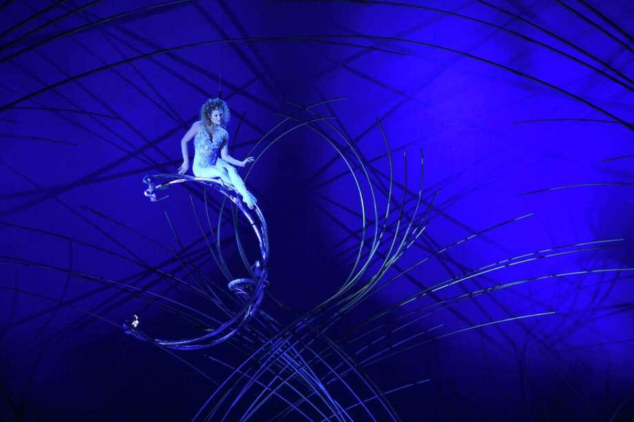 Marie-Michelle Faber performs during Cirque du Soleil's Amaluna. Photo: JOSHUA TRUJILLO, SEATTLEPI.COM / SEATTLEPI.COM