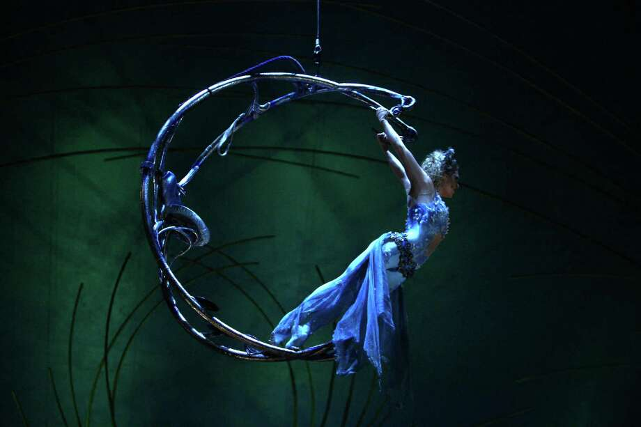 Marie-Michelle Faber performs during Cirque du Soleil's Amaluna. Photo: JOSHUA TRUJILLO, SEATTLEPI.COM / SEATTLEPI.COM