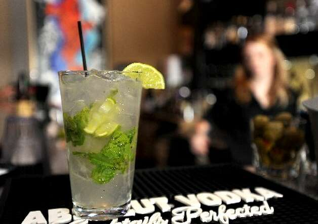 The Samari Mojito is a signature drink at Koi. Tammy McKinley/cat5
