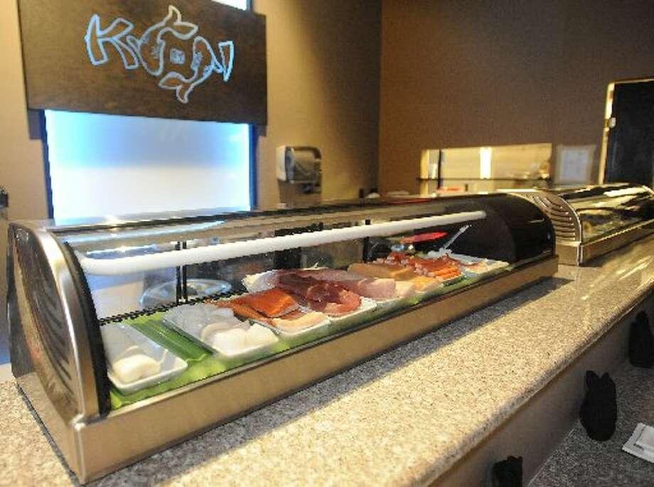 The sushi bar at Koi. Dave Ryan/cat5